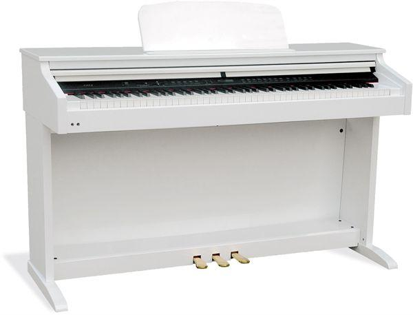 piano numérique blanc